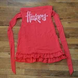 Small VS Pink Husker dress
